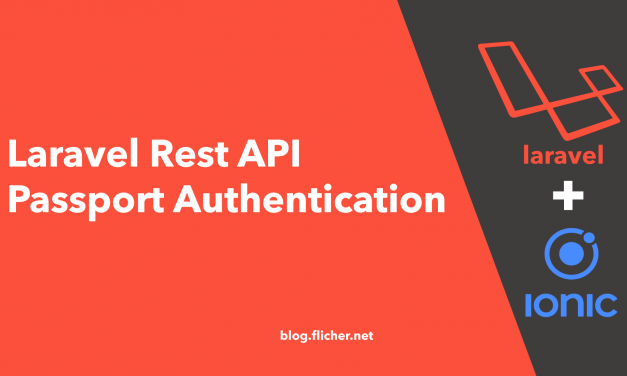 Laravel Rest API Passport Authentication for Ionic App