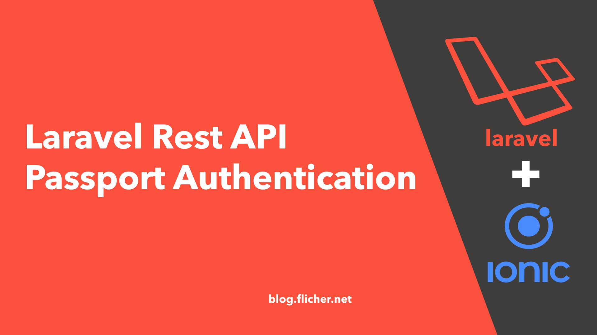 Laravel Rest API Passport Authentication for Ionic App